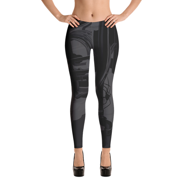 """Itsy Bitsy"" DARK MODE Leggings"