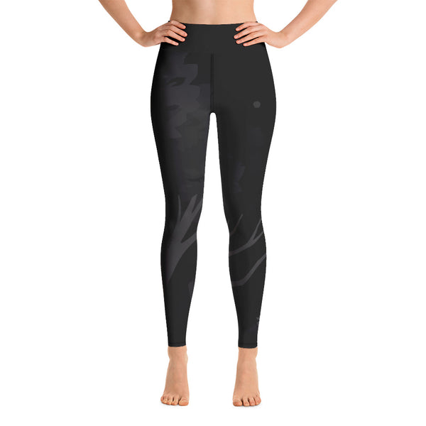 """Cosmic Canopy - DARK MODE"" Yoga Leggings"