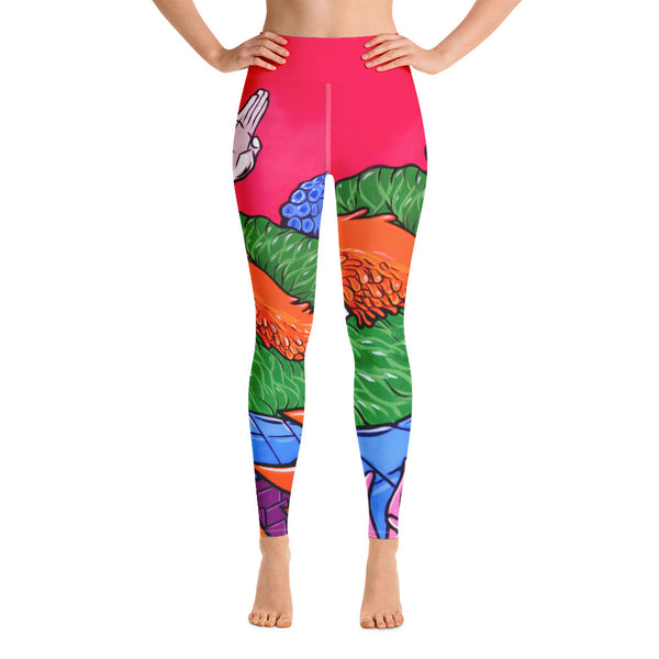 """Kaiju Kluster"" Yoga Leggings"