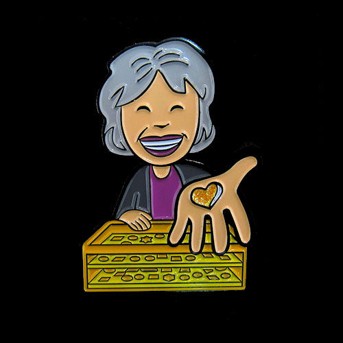 Su Lee the Pin Lady<br>Enamel Pin
