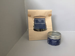 Chai kit: Chai Masala spice blend and Tea leaves