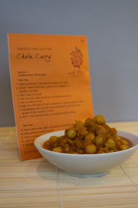 Channa Masala (Garbanzo Bean) Curry spice packet