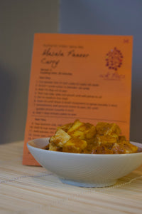 Masala Paneer/Tofu Curry spice packet