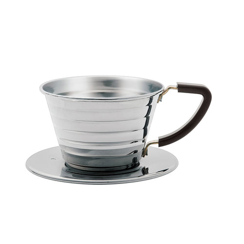 Kalita Wave Stainless Steel Dripper 155