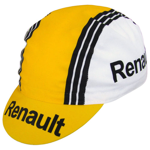 RENAULT/ELF/CYCLES GITANE RETRO COTTON CYCLING CAP
