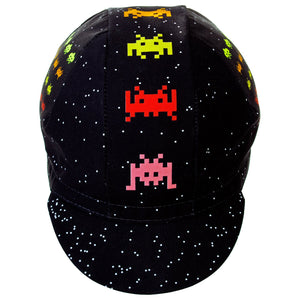 Space Invaders Cycling Cap