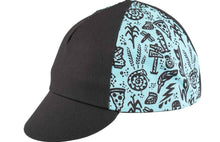 Gravel Story Cycling Cap - Black/Blue