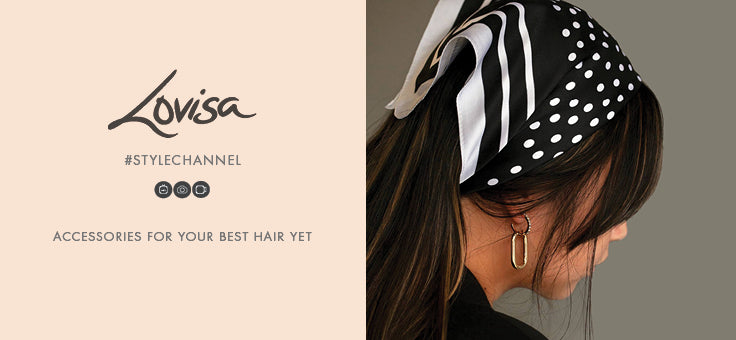 Try the hottest new hair accessories for perfect hair styling!