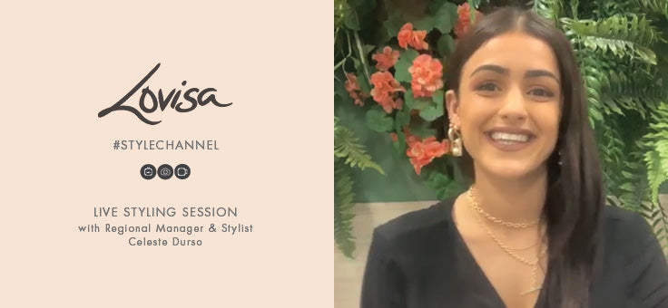 Live with Lovisa Buyer Celeste - Q&A with customer Sjaan
