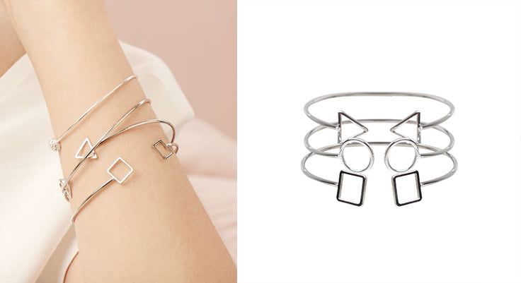 SHAPES ARE MAKING A SERIOUS STATEMENT | Lovisa Jewellery Australia | Geometric Jewellery | Silver Jewellery