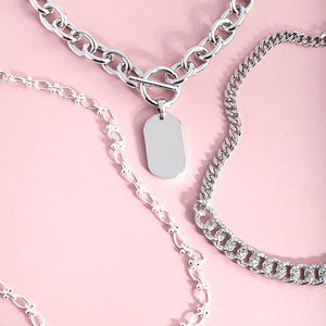 <h6><u>Layered Necklaces</u></h6>