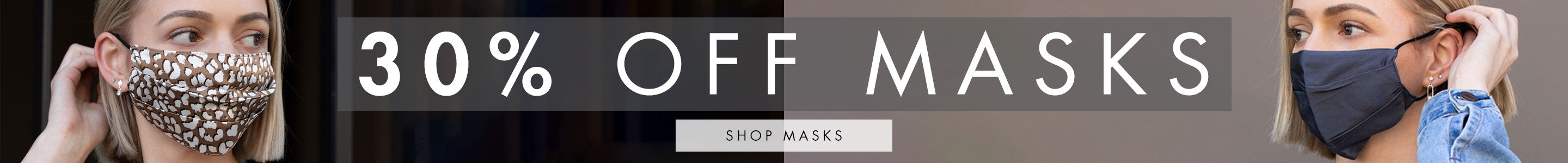 30% Off Masks