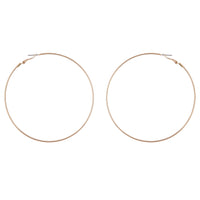 Gold Super Hoop Earring - link has visual effect only