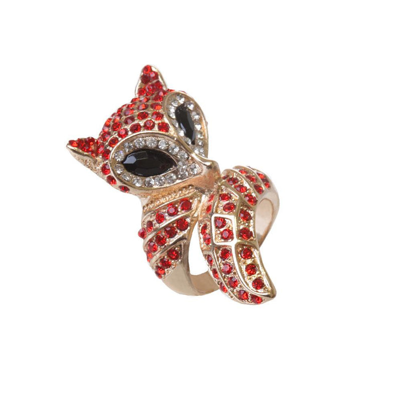 RED FOX WRAP RING