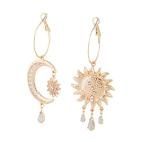 Asymmetrical Celestial Diamante Earring - link has visual effect only