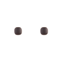 Rose Gold Round Square Stud Earrings - link has visual effect only