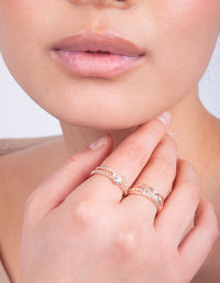Rose Gold Dainty Ring
