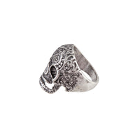 Antique Silver Detailed Skull Ring | Rings | Lovisa Jewellery Australia | Gift Idea Girl