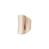 Gold Polished Contour Ring