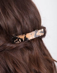 Tortoiseshell Black Clip 2 Pack - link has visual effect only
