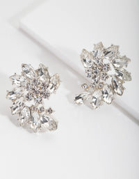 Crystal Stud Earrings - link has visual effect only