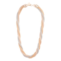 Mixed Metal Twisted Mesh Tube Necklace | Necklaces | Lovisa Jewellery Australia | Gift Idea Girl