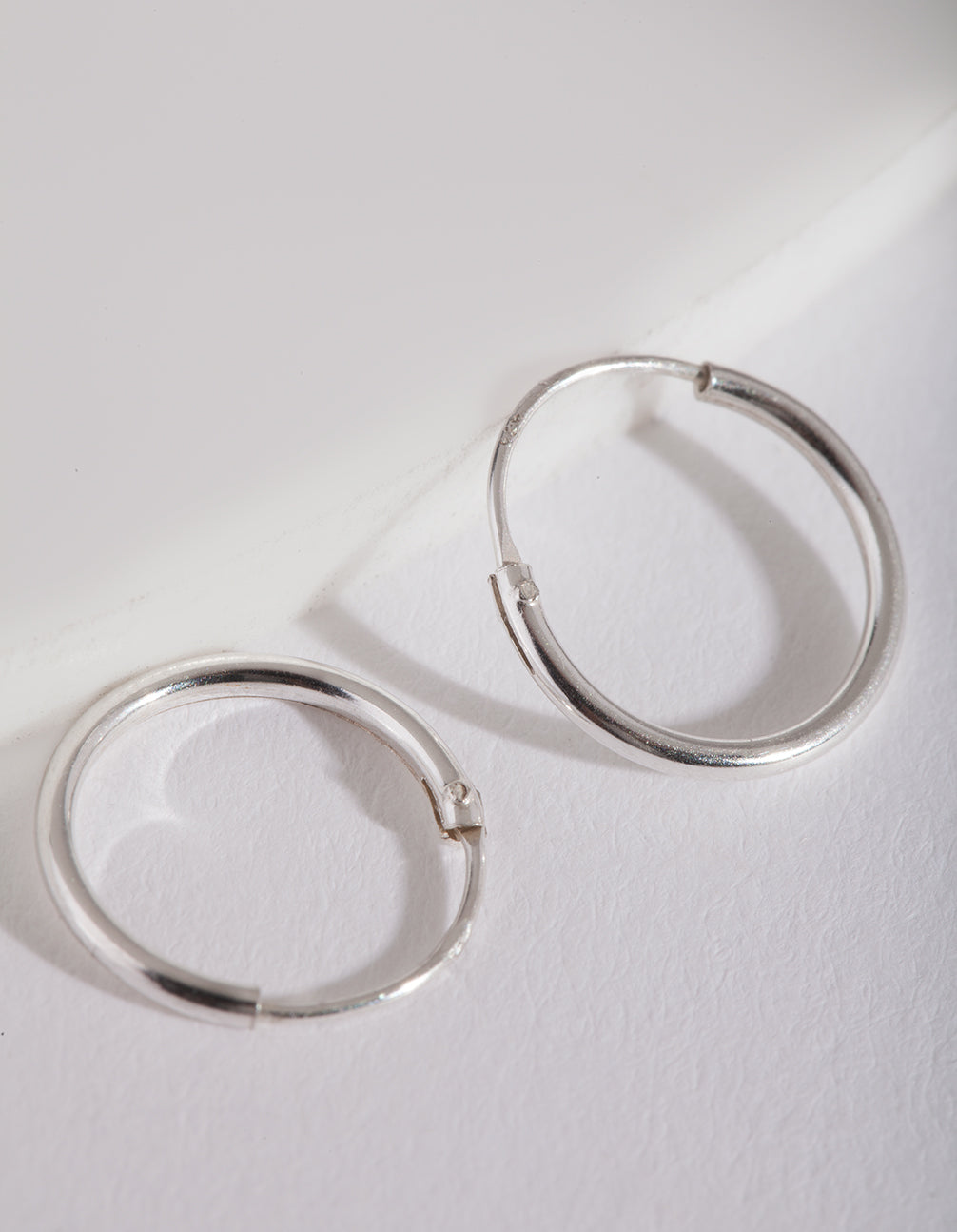 Sterling Silver 12mm Hoop Earring