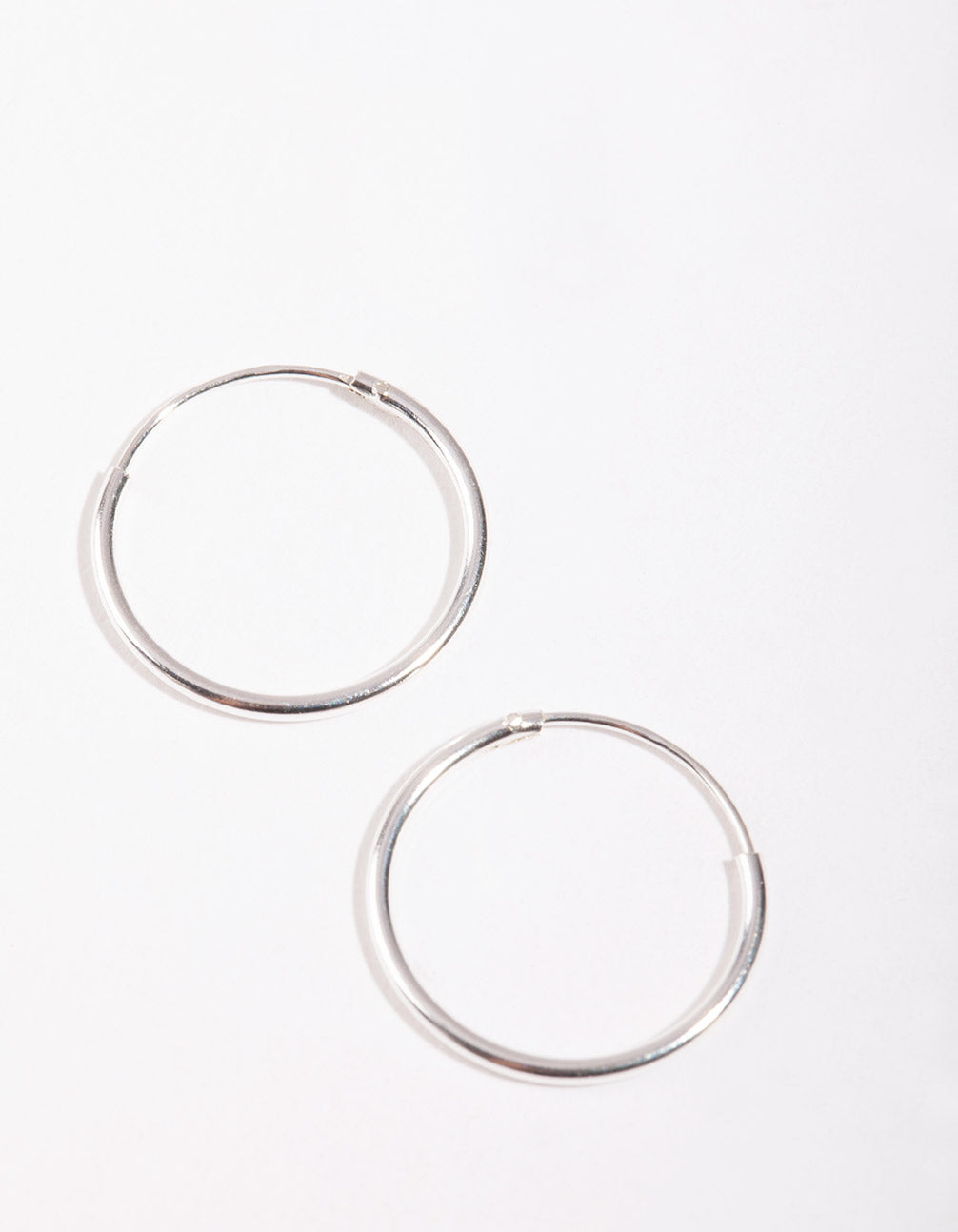 Sterling Silver 16mm Hoop Earring