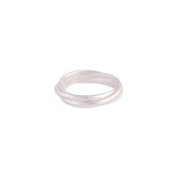 Sterling Silver Layered Band Ring | Rings | Lovisa Jewellery Australia | Gift Idea Girl
