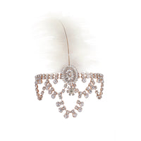 Rose Gold Feather Jewel Headchain | Hair | Lovisa Bridal Jewellery Australia | Wedding Accessories