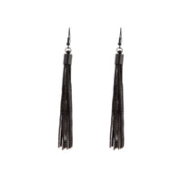 Black Tassel Chain Earring | Earrings | Lovisa Jewellery Australia | Gift Idea Girl