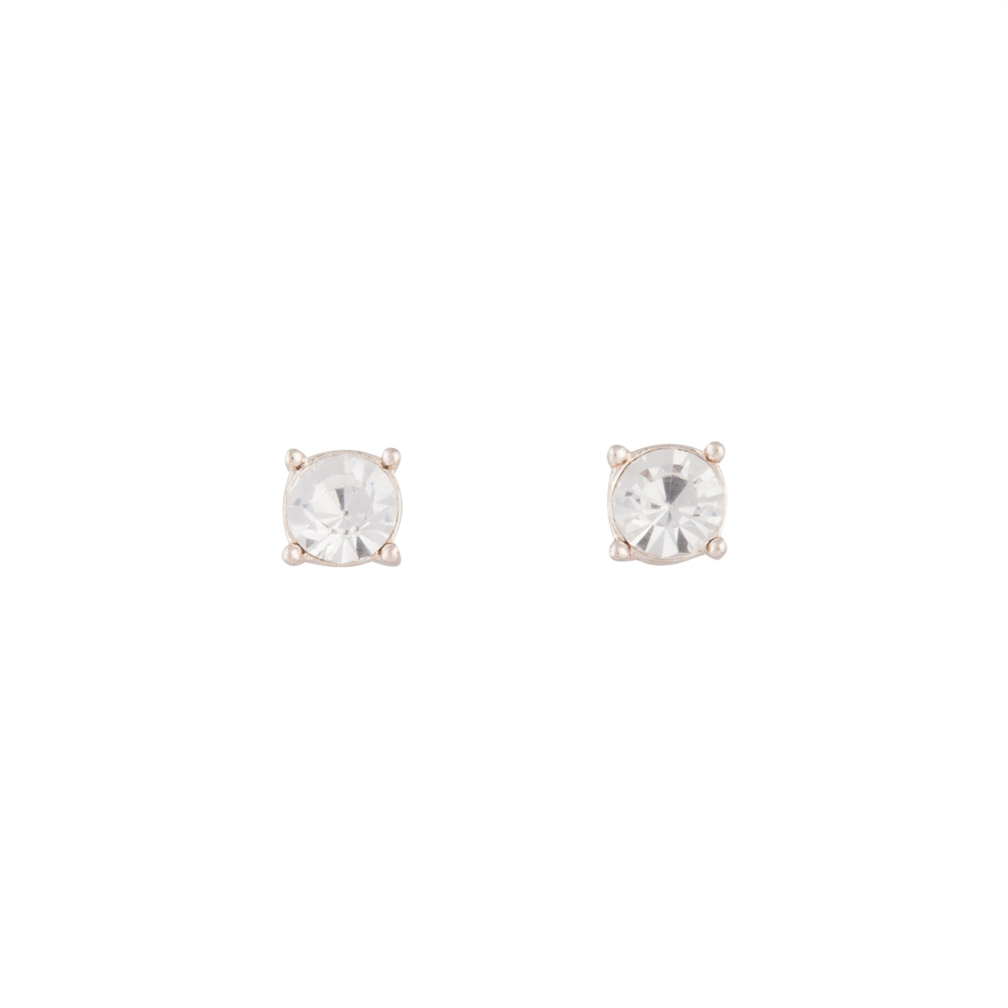 Rose Gold 2 Glass Earring