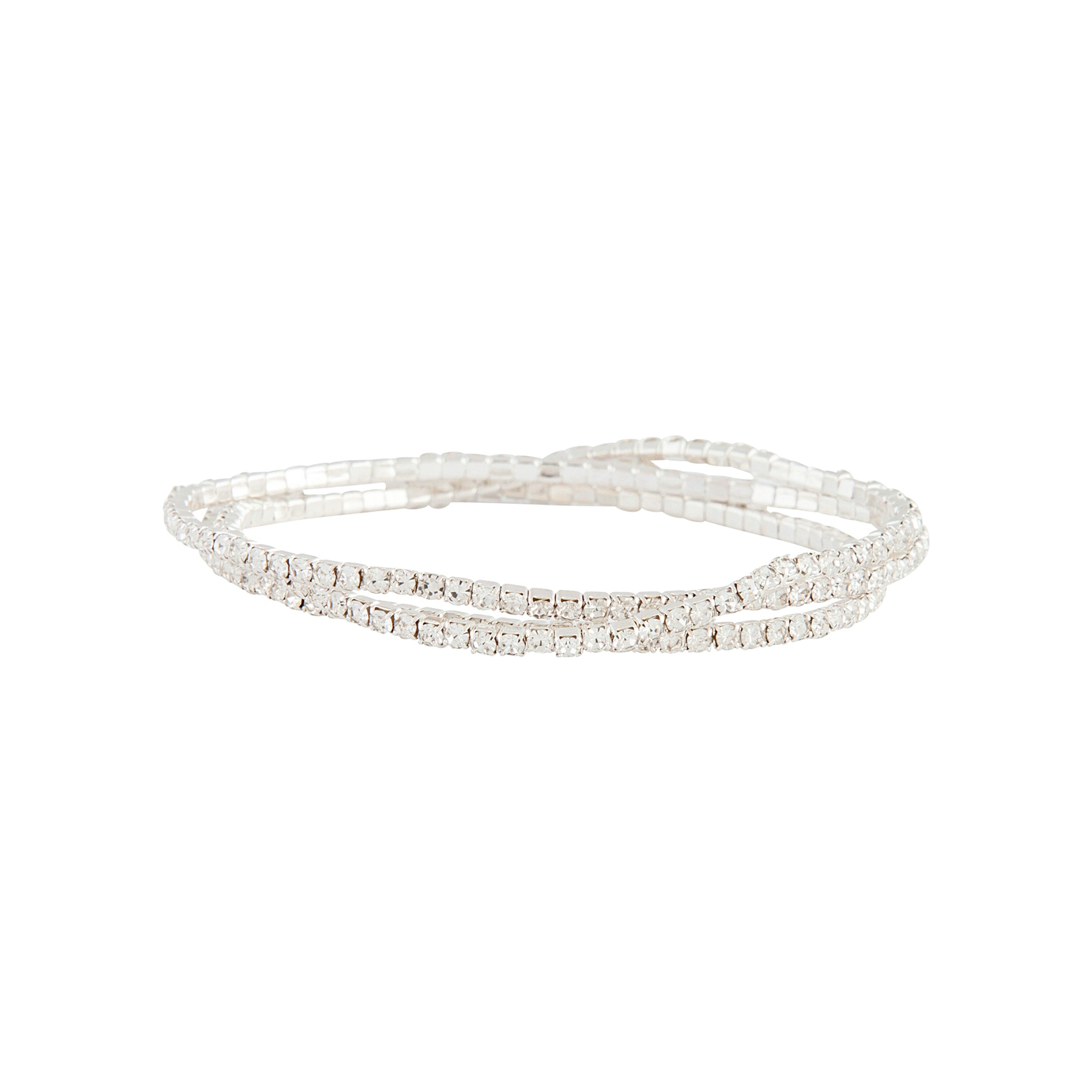 Silver Cup Chain Bracelet 3 Pack