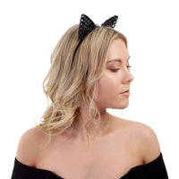 Black Mix Beaded Cat Headband | Hair | Lovisa Jewellery Australia | Gift Idea Girl