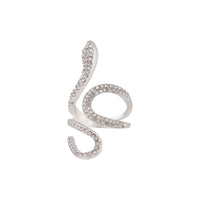 Diamante Swirl Snake Ring | Rings | Lovisa Jewellery Australia | Gift Idea Girl