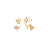 Gold Swirl Statement Stud Earring - link has visual effect only