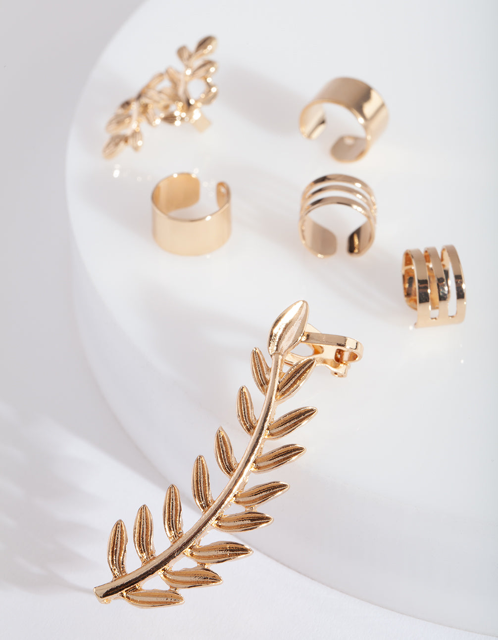 Gold Leaf 6 Pack Ear Stack