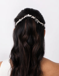 Floral Diamante Halo Hairpiece - link has visual effect only