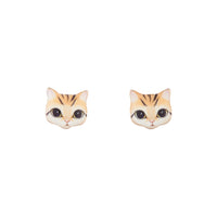 Mini Kitten Stud Earring - link has visual effect only