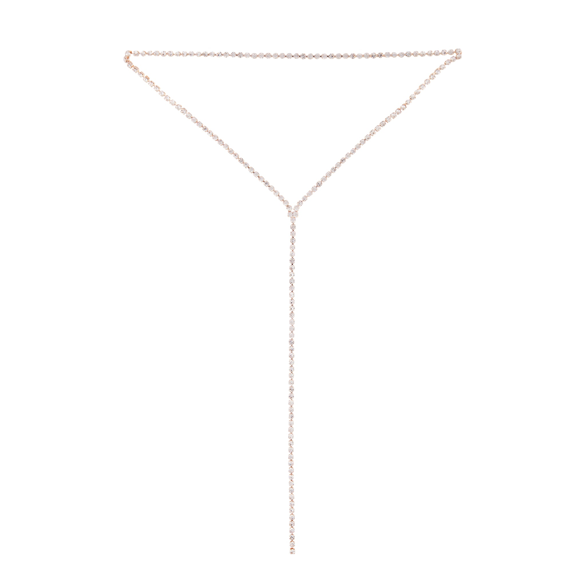 Rose Gold Cup Chain Layer Choker