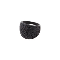 Black Pave Diamante Dome Ring | Rings | Lovisa Jewellery Australia | Gift Idea Girl