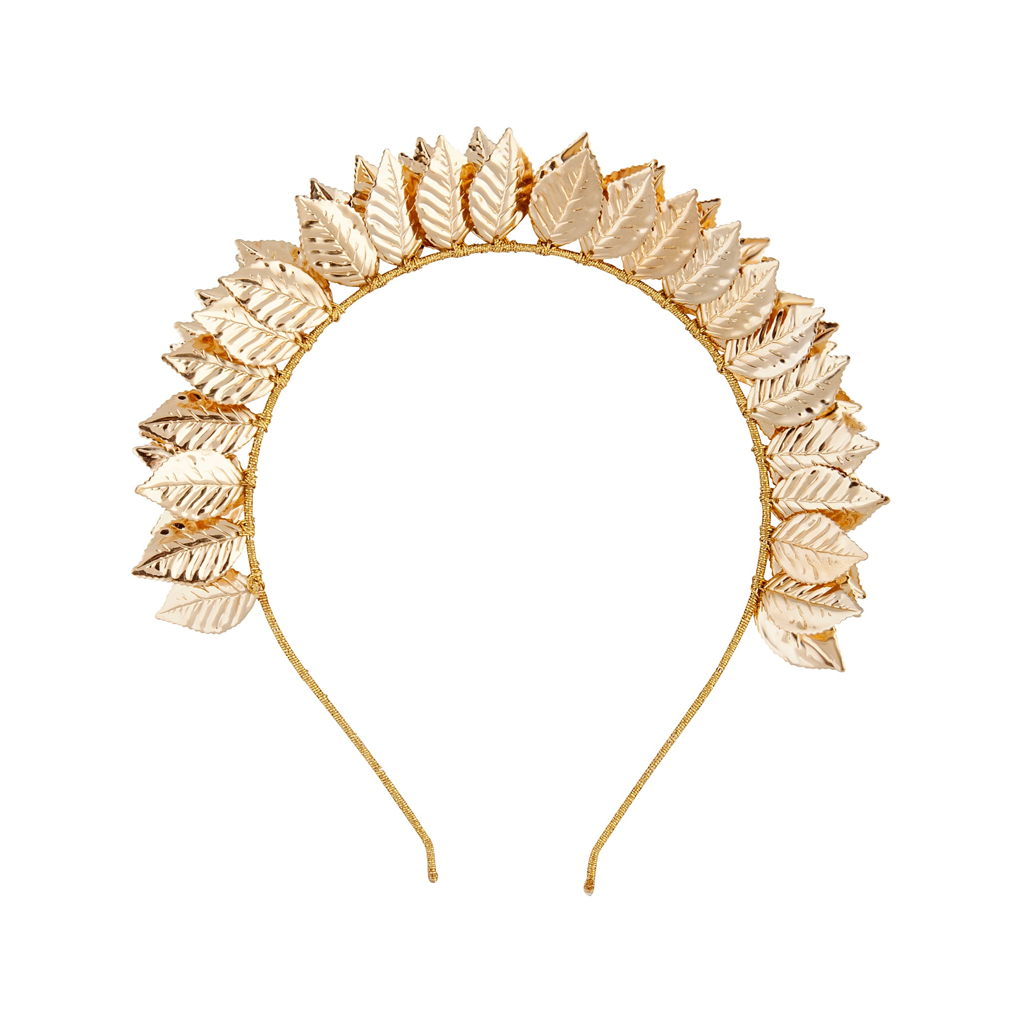 Gold Leaf Bomb Metallic Headband