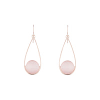 Rose Gold Simple Cats Eye Earring | Earrings | Lovisa Jewellery Australia | Gift Idea Girl