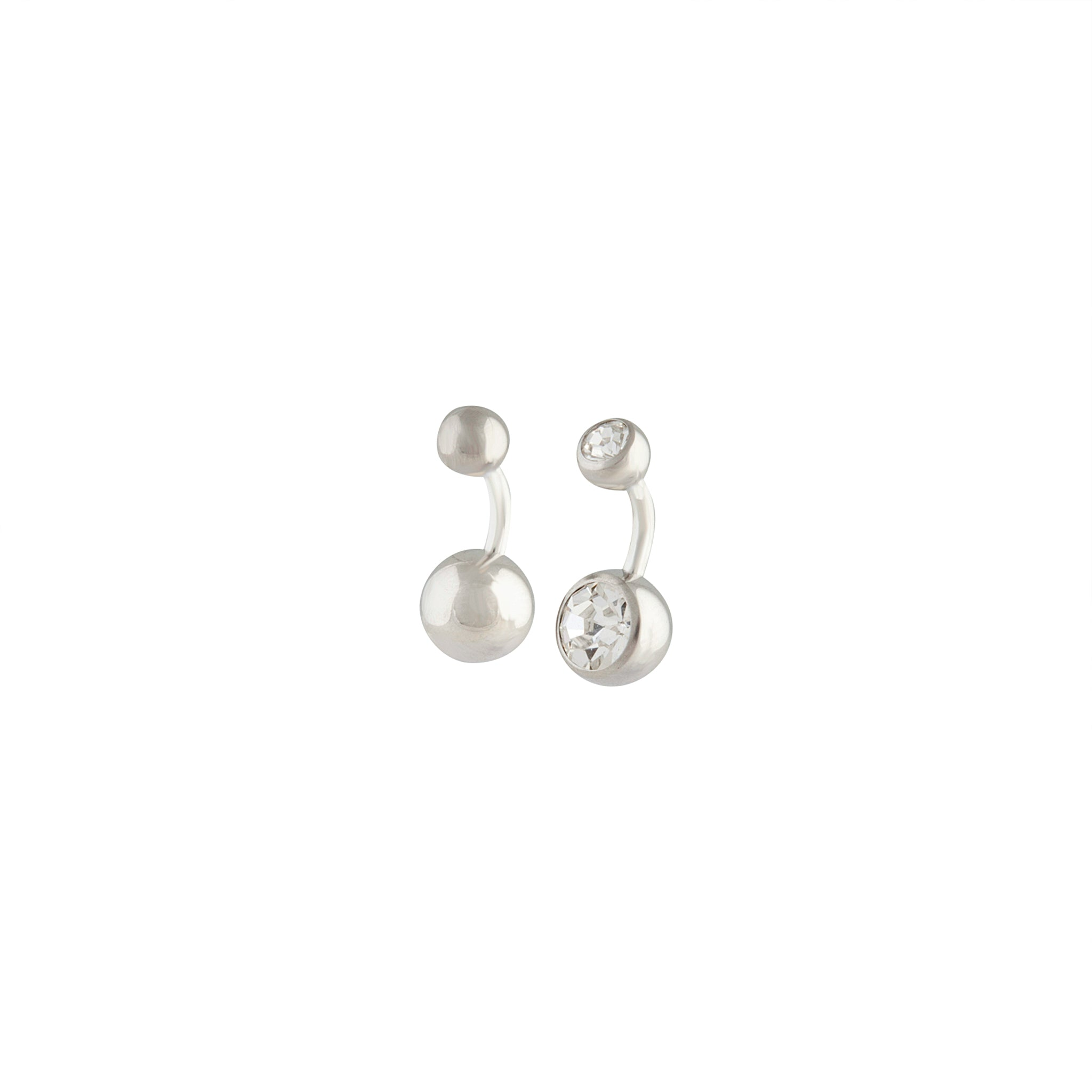 Rhodium Short Belly Bar 2 Pack