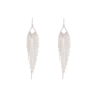 Silver Diamante Cascade Ball Earring - link has visual effect only