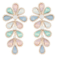 Pastel Teardrop Flower Multi-Stone Earring | Earrings | Lovisa Jewellery Australia | Gift Idea Girl
