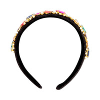 Fuzzy Multi-Coloured Jewel Headband | Hair | Lovisa Jewellery Australia | Gift Idea Girl