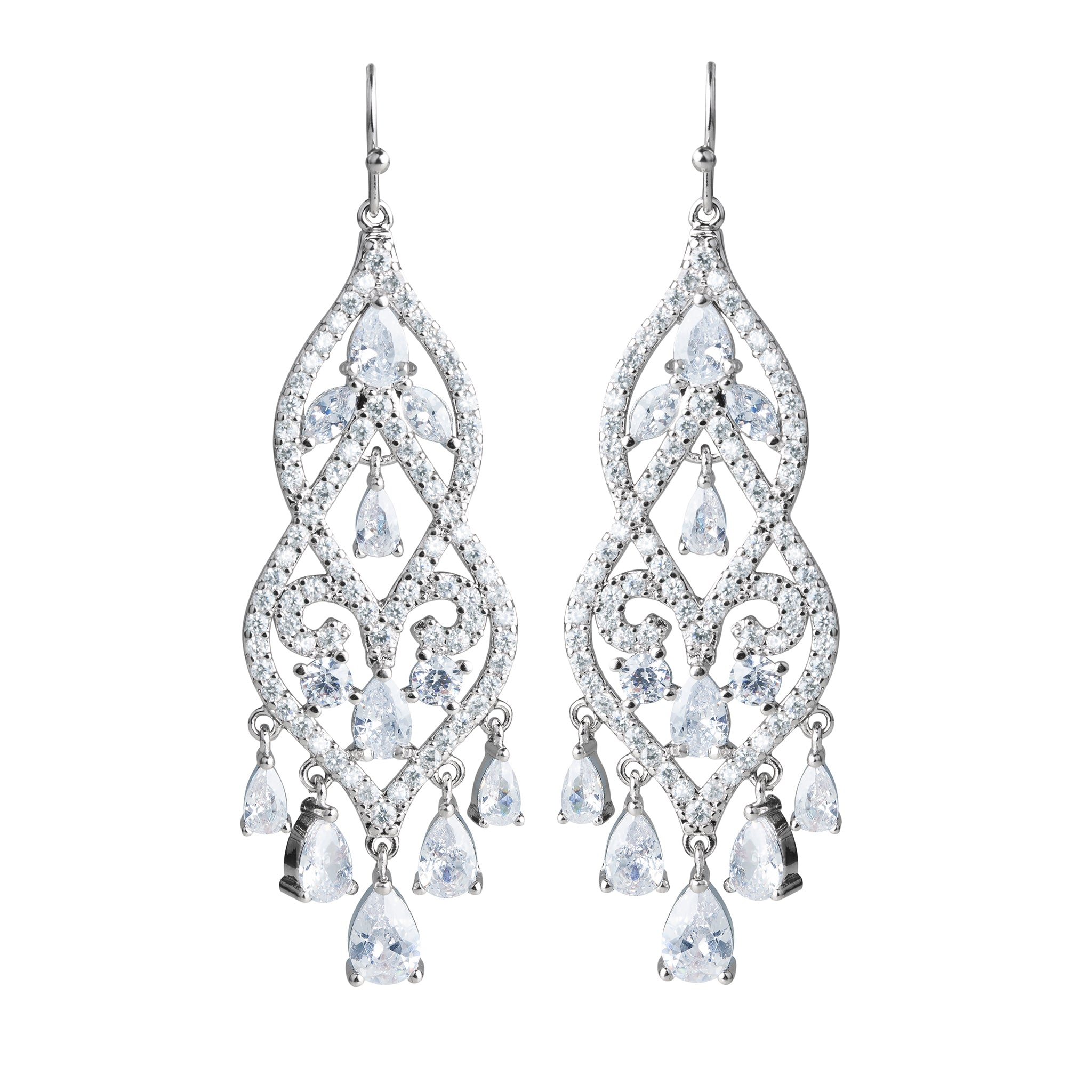 Statement Vintage Chandelier Earrings