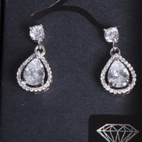 Mini Pear Drop Earring - link has visual effect only