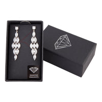 Crystal Cascade Drop Earring